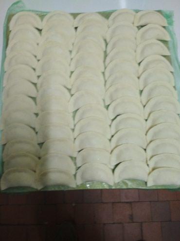 Манты чучвара вареники, все ручной лепки,очень вкусно. в Бишкек