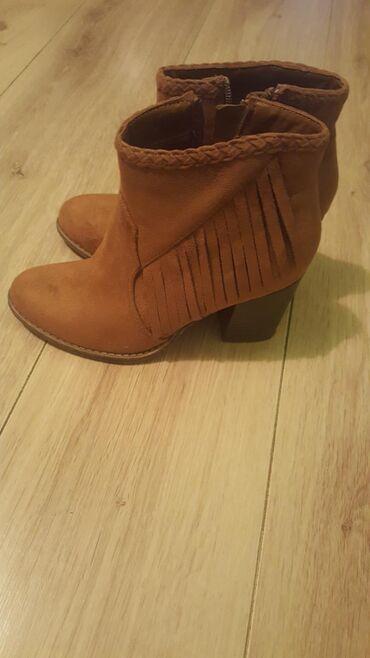 Ženska obuća | Backa Palanka: Novee cipele braon boja. samo probane. jako kvalitetne. br 37. Dosta