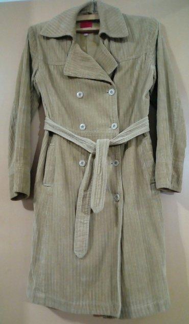 Somotski mantil drap boje,happening,veličina 34. Nošen je,ali je u - Beograd