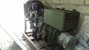 Bakı şəhərində Sovet dövrünün istehsalı, 15kvt gücündə dizel generatoru,