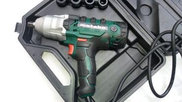 Instrumenti   Pozarevac: Električni udarni odvijač METABOsnage 1500w, Novo u koferu kao na