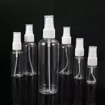 Антисептик тара со спреем, оптом от 1000шт.60мл и 100мл. Тара, спрей