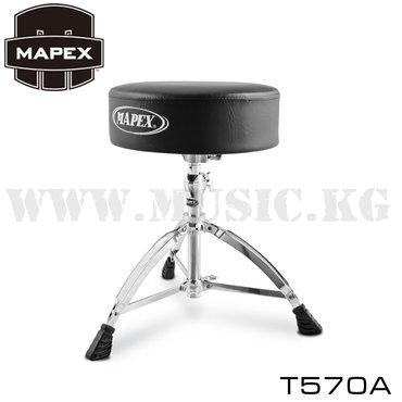 Стул барабанный с круглым мягким сидением для барабанной установки