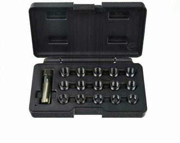 Bmw x1 20i xdrive - Srbija: Set za popravku navoja na svecicama 16 komCena:3400 rsdSet alata za