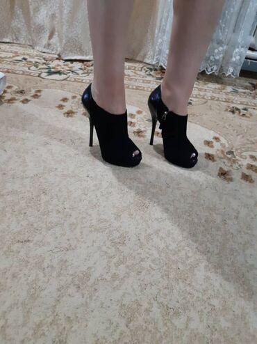 Чёрные туфли Pierre Cardin. Замшевые с лаком. Одевались 1 раз, состоян