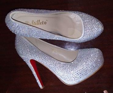 Туфли новые, каблук 10 см., размер 38 - 39. в Бишкек