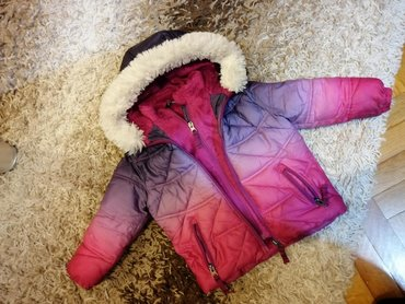 Dečije jakne i kaputi   Batajnica: Zimska jakna za devojcice, velicina 1god. Ocuvana i postavljena unutra