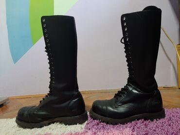 Branje malina - Srbija: Kožne ženske čizme Shellys Rangers, 20 kopči, broj 38. Kupljene u