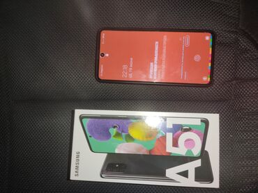 Электроника - Узген: Samsung A51   64 ГБ   Черный   Гарантия, Две SIM карты, С документами