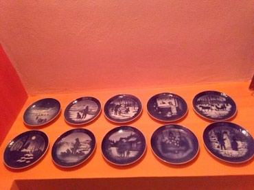 Tanjiri za kolekcionare,kace se na zid. Kvalitetan porcelan. - Sombor