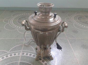 Sumqayıt şəhərində Tok samavarı 3 litrlik 1960 cı ilin istehsalı.