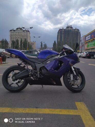 Kawasaki в Кыргызстан: Продаю Кавасаки ниндзя 636 с прошивкой КАМАНДОР всё в оригинале цепь