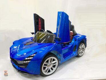 Детская электромашина Яркий и запоминающийся детский электромобиль