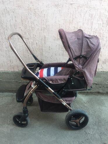 Коляски - Кыргызстан: Продаю коляску в отличном состоянии. Пользовались 2мес