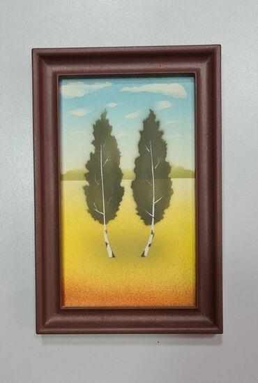 Картина декоративная,для украшения помещения, размер 13 см х 20 см