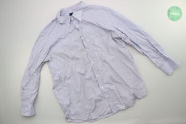 Чоловіча сорочка в смужку Walter Agostini, р. XL   Довжина: 76 см Шири