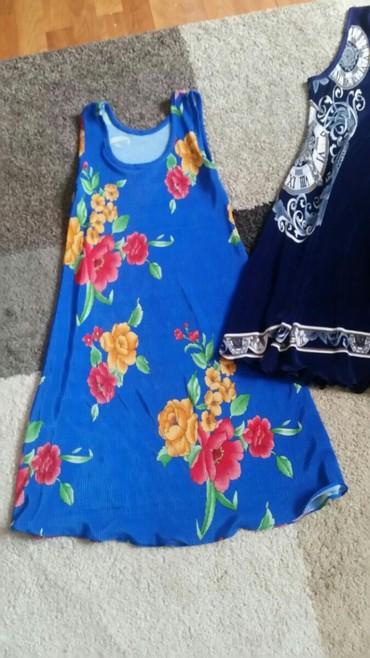 Lagana ženska haljina, nosena  velicina M ali se rasteze - Pirot
