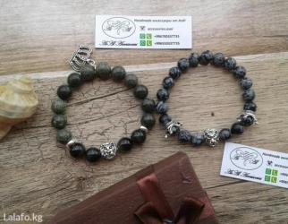 Мужские браслеты из натуральных камней. (под заказ➡ вотс апп) в Бишкеке