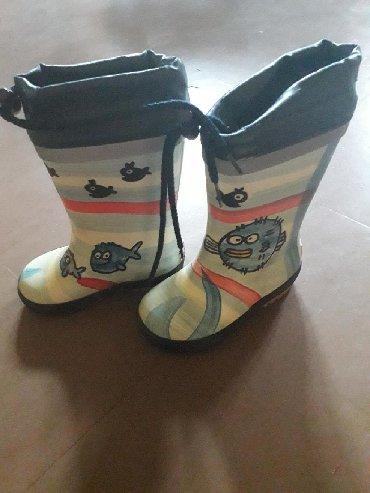 Dečije Cipele i Čizme | Srbobran: Nove gumene čizme MAXIMO 22 broj