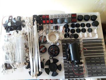 плита спиральная в Кыргызстан: Продаю запчасти на обогреватели,сенсорных плит,тепловой пушки