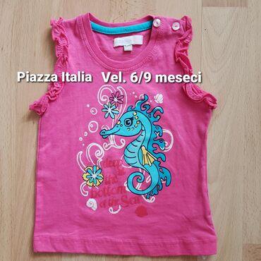 Dečiji Topići I Majice | Sombor: Nova majica Piazza Italia. Pise da je vel 6-9 meseci, ali je veca