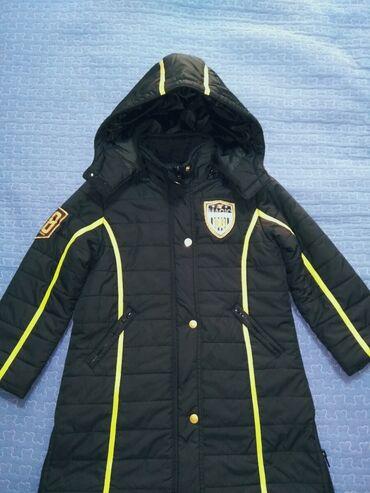 Пальто на девочку 4-6 лет, пр-во Корея, фирменное, тёплое и