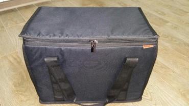 сумка черного цвета в Кыргызстан: Новые! фирменные термосумки. сделанные из высококачественного матери
