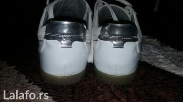Cipele-patike muske, broj 43, kozne, obuvene par puta, kao nove su, - Kraljevo