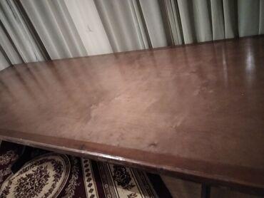 Мебель - Бостери: Продаю стол. Размер: 350 см Х 120 см. Материал: сосна. Прошу 18000 сом