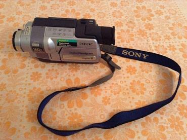 Bakı şəhərində Sony handycam digital 8 videocamera