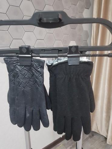 кроп футболки мужские в Кыргызстан: Б/у мужские и женские зимние перчатки. Мужские ремни