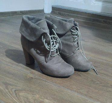 Ženska obuća | Plandište: Poti Pati čizmice, kupljene u Parizu. Veoma udobne, sa stabilnom