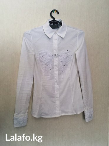 Школа. Рубашка и атласная юбка-карандаш. Б/у, состояние хорошее. По в Бишкек