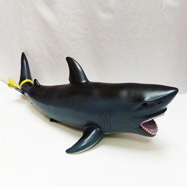 Огромная резиновая акула - опасная рыба морских глубин!!⠀Размер в