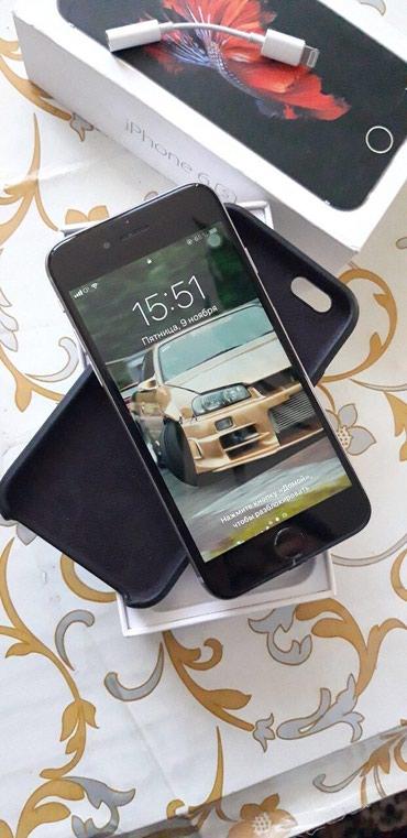 IPhone 6s (64 Gb)  iOS 12.1 В отличном состоянии. Не рефка Срочно  в Бишкек