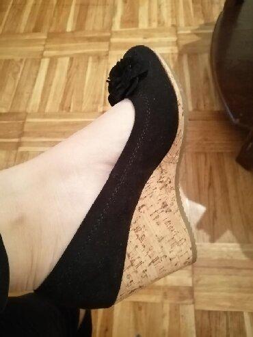 Only pantalone tj - Srbija: Očuvane cipele Graceland, broj 37, visina štikle tj plute 8cm, bez