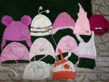 Продам шапочки на девочку с 6 месяцев в Бишкек