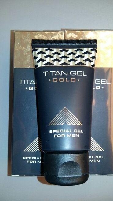 TITAN GEL GOLD ОРИГИНАЛ  100% тозаш, галограмма, штрих-код хамаш мувоф