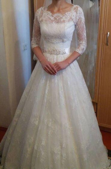 свадебные платья хиджаб в Кыргызстан: Продаю свадебное платье!!!