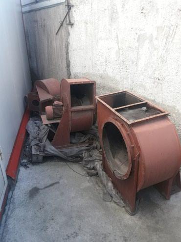 Продаю промышленную вытяжку. б/у. цена приемлемая.3фазы моторы. в Бишкек