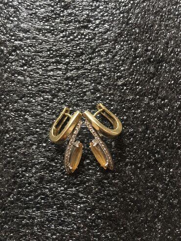 скупка золота 585 пробы в Кыргызстан: Продаю серьги. Золото 585 пробы. Вес : 6,43 г. Камни : бриллианты