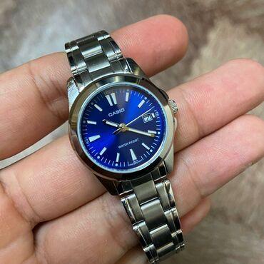 new-часы в Кыргызстан: Синие Женские Наручные часы Casio