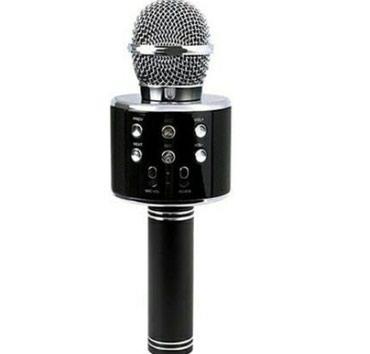 Bakı şəhərində Blutuz karaoke mikrafon super sesi var