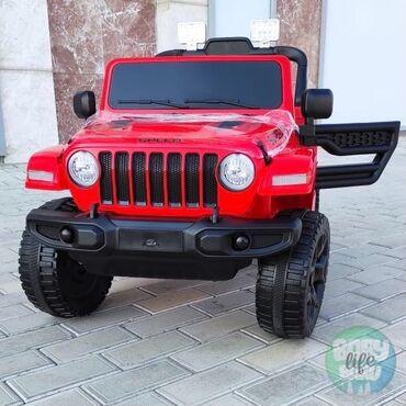 Uşaq maşınları - Azərbaycan: Yeni gələn, Jeep Wrangler Unlimited elektromobili artıq satışdadır