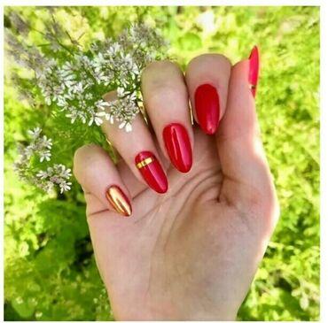 Работа - Бишкек: Акция -15% на ногтевого сервиса маникюр  шеллак  наращивание ногтей  у