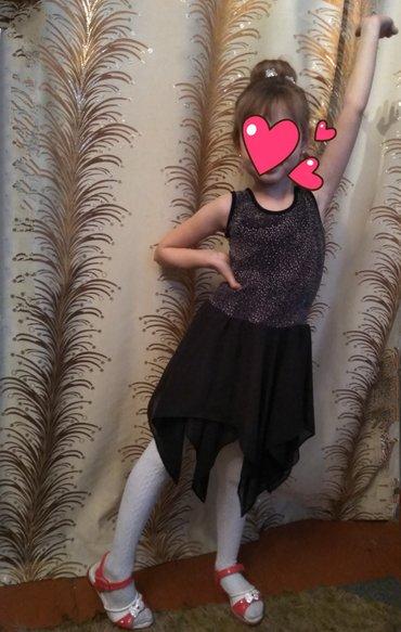 Платье на 5-6 лет,материал шифон и трикотаж в Лебединовка