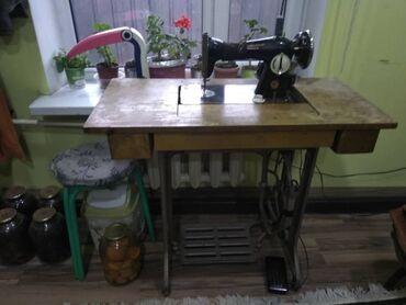моторы для швейных машин в Кыргызстан: Швейная машинка Подольск со столомК машинке для удобства приделан
