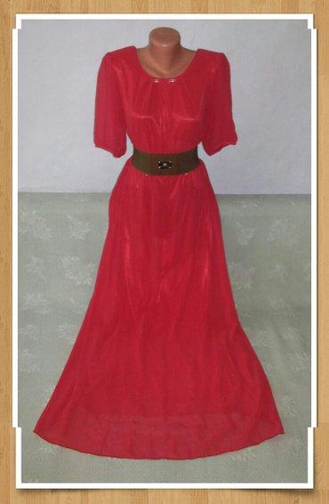 Красивое,шифоновое платье! размер 50,но подойдет на 48. Есть обмен. в Бишкек