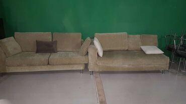 Künc divan dəsti 150 AZN Material parça. Dəmir hissələr paslanmaz nike