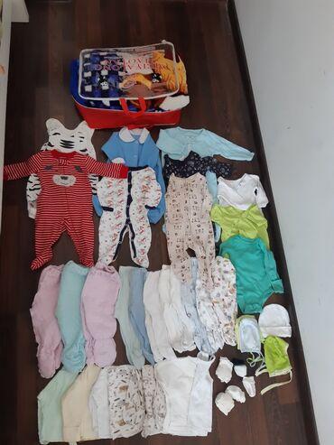 utepljonnaja bodi в Кыргызстан: Слипики 7шт,бодик 3шт,распошенки,ползунки,царапки,носочки,шапочки и